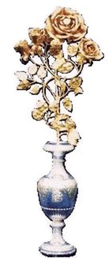Rose given by Pope to Shrine at Knock, Ireland
